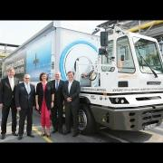BMW and the SCHERM Group Unveiled 40-Ton Electric Truck